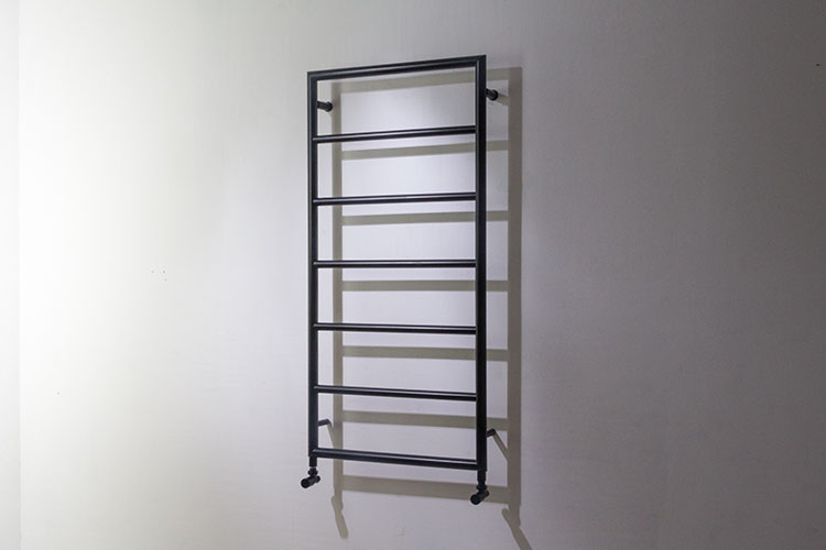 Matt Black Heated Towel Rails Loft Towel Radiator