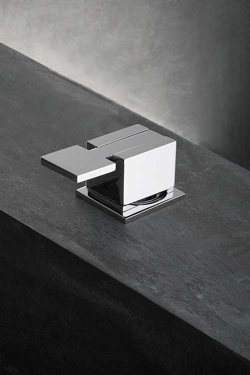 Wall Mounted Square Basin Taps Amp Cubic Bath Taps Boxer