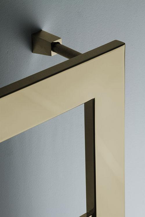 Large Bar Brass Heated Towel Rail Brass Towel Warmers