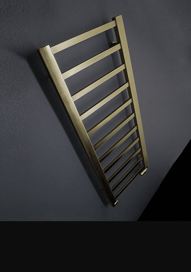 Brass Towel Rails Amp Radiators In Natural Brass Finish By