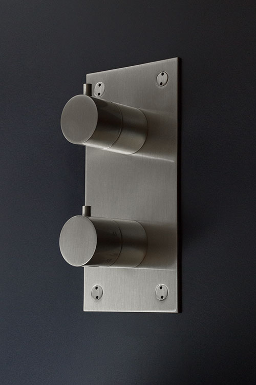 Brushed Nickel Thermostatic Shower Valve Amp Controls