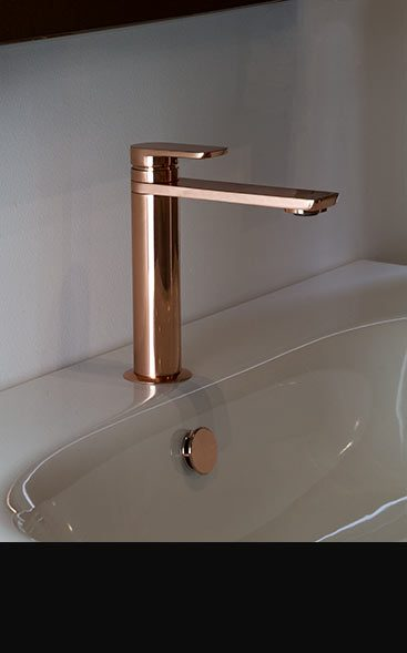 button copper taps and copper bathroom taps