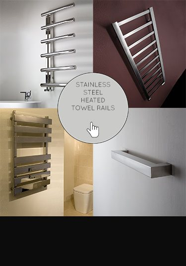 Noa Brushed Stainless Steel Taps By Livinghouse