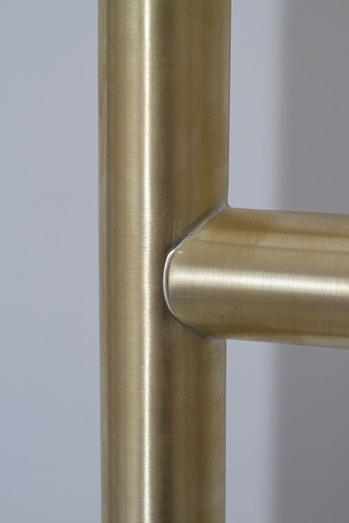 Brass Towel Rails Amp Towel Radiators Natural Brushed
