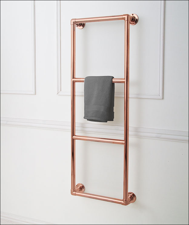 Traditional Copper Towel Rails Copper Towel Warmers Uk