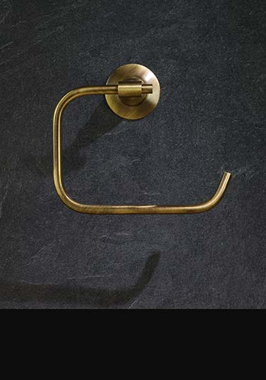 Antique brass bathroom accessories fittings
