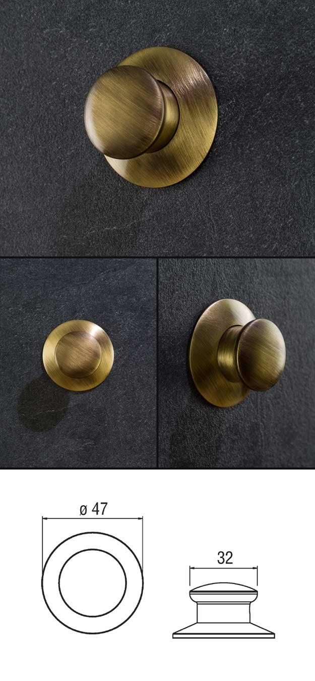 Antique Brass Robe Hook Brass Bathroom Accessories