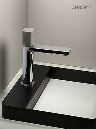 Stainless Steel Basin Tap Concrete Collection