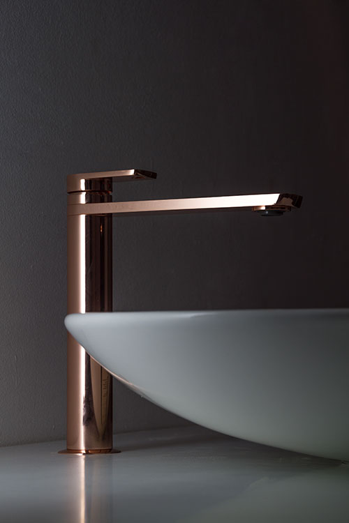 Copper Tall Amp Extended Basin Taps Copper Bathroom Taps