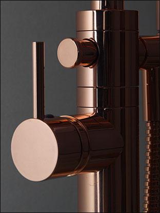 Freestanding Bath Tap | Copper Bath Filler | Copper Bathroom Taps
