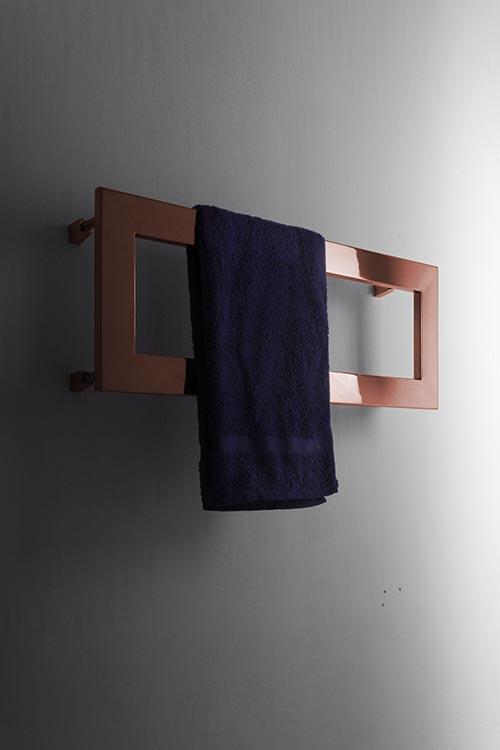 Profile Copper Heated Towel Rail Copper Radiators