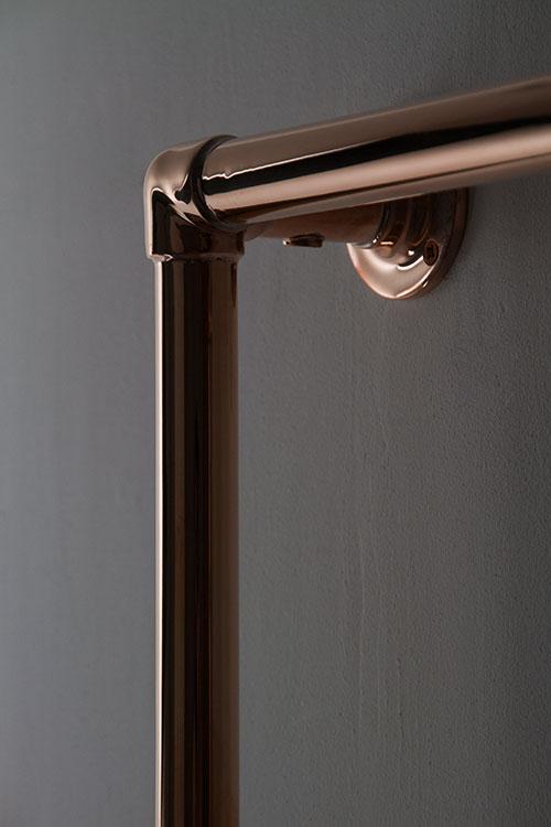 Wet Room Wall Panels >> Copper Heated Towel Rail | Copper Towel Warmers | Classic