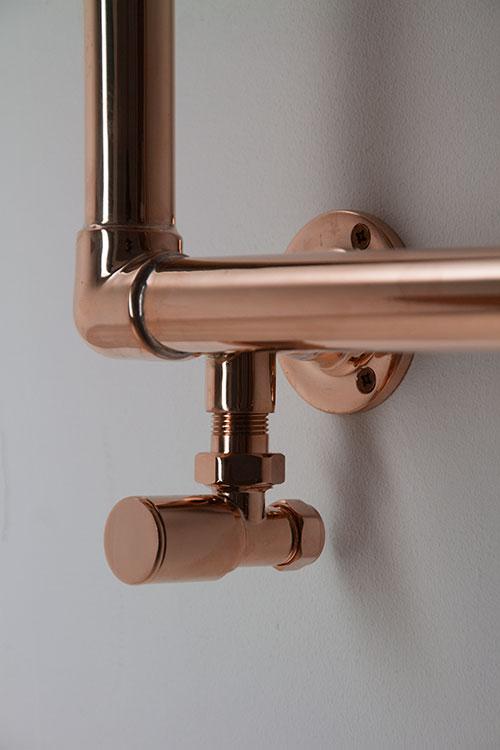 Copper Heated Towel Rail Copper Towel Warmers Classic