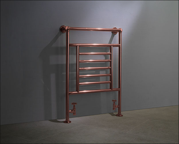Traditional Copper Towel Rails Amp Copper Plated Towel