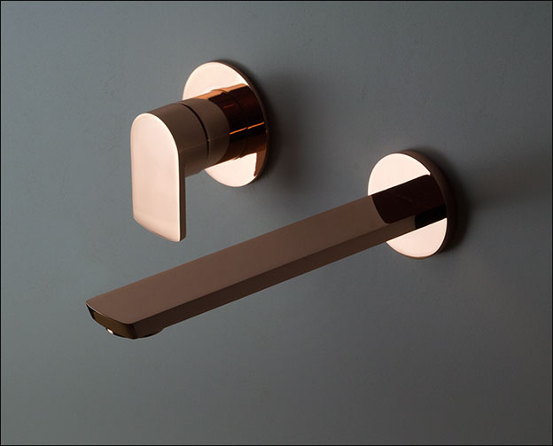 Copper Wall Mounted Basin Taps Copper Bathroom Taps