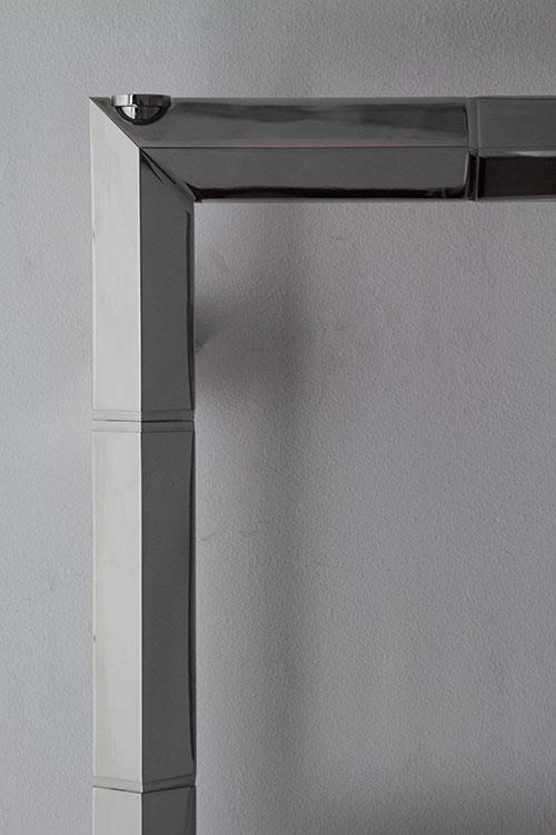 Towel Radiator Stainless Steel Heated Towel Rails Art Deco