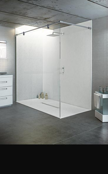 Attirant Level Access Walk In Shower Trays
