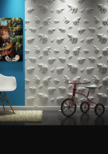 Dumbo 3D Decorative Wall Panelling (113G)