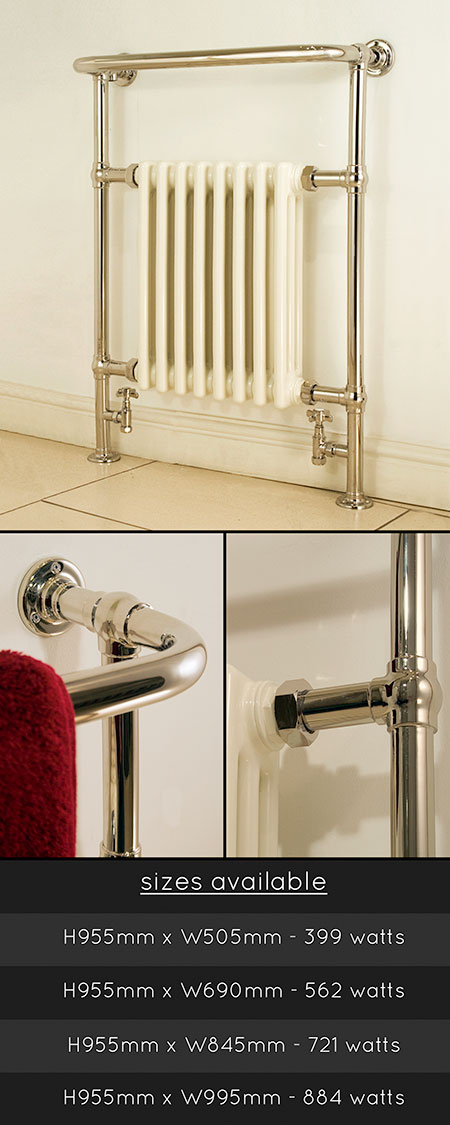 Nickel Plated Towel Warmers Amp Traditional Nickel Towel