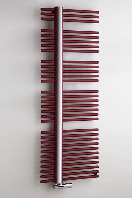 Coloured Towel Radiators Red White Amp Black Fishbone