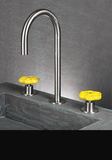 Flower Stainless Steel Taps By Livinghouse