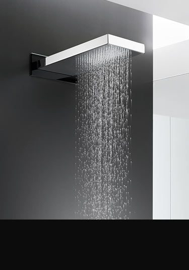 Fixed shower heads wall ceiling mounted livinghouse - Glass shower head ...