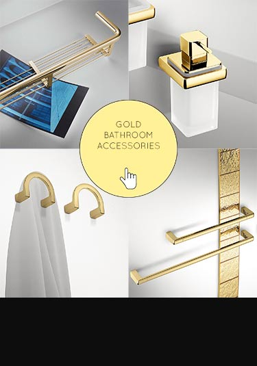 Gold Taps - Basins, Baths & Shower Head