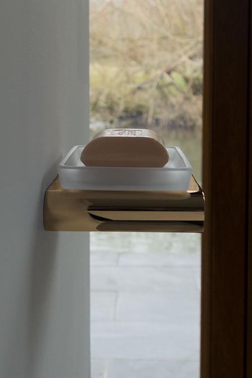 Spa Gold Soap Dish Gold Bathroom Accessories