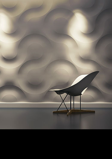 In The Groove 3D Feature Wall Panels 113B