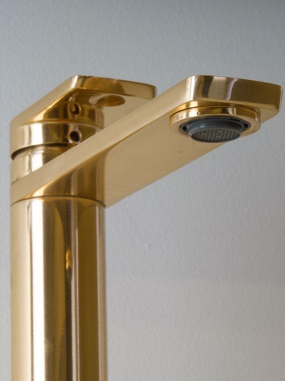 Gold Taps Gold Basin Mixer Taps Kara