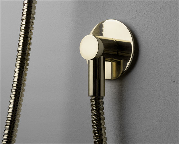 Nickel Wall Outlet Shower Wall Elbow Nickel Shower