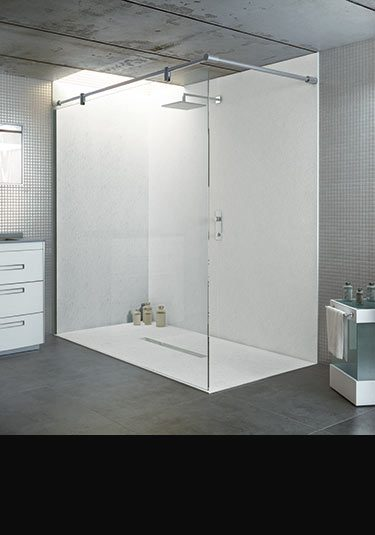 Waterproof Wall Board : Waterproof shower wall panels for bathroom livinghouse