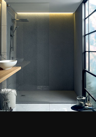 Steam Shower Wall Panelling Steam Proof Wall Cladding - Bath shower wall covering