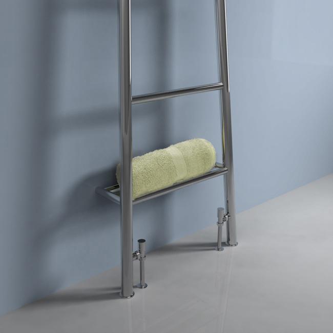 Designer Heated Towel Radiator Leaning Ladder Towel Rail