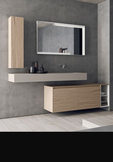 line bathroom furniture room set 1 - Bathroom Units