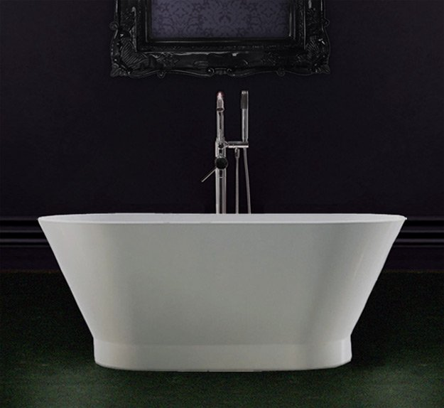 Small freestanding bath 1500mm livinghouse for Small baths 1500