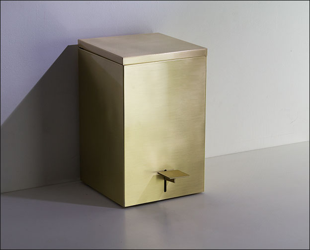 Brass Bathroom Bin Moca Bathroom Accessories