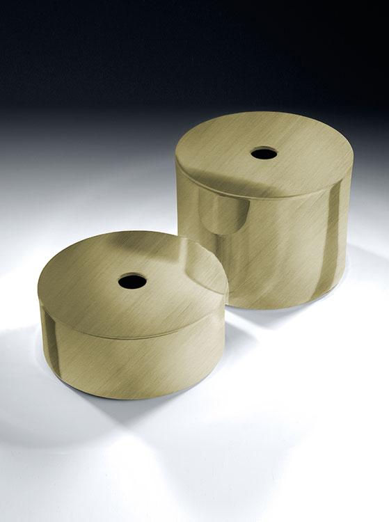 Brass Toilet Roll Storage Box Moca Bathroom Accessories