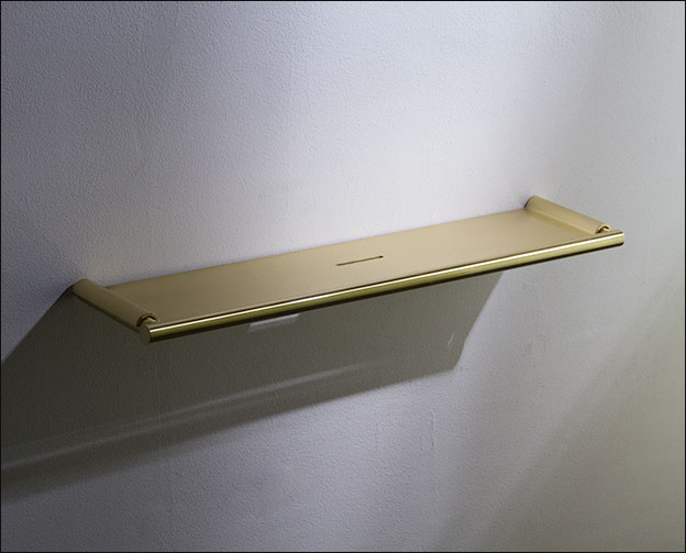 Brushed Brass Bathroom Shelf Moca Bathroom Accessories