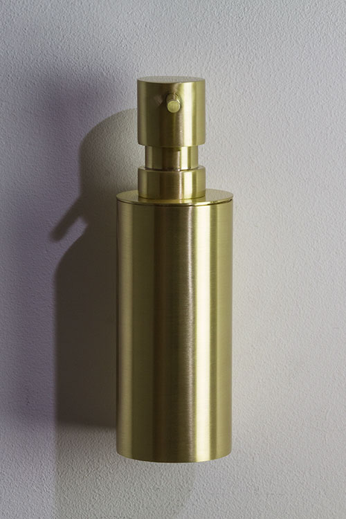 Brushed Brass Soap Dispenser Pump Moca Brass Bathroom