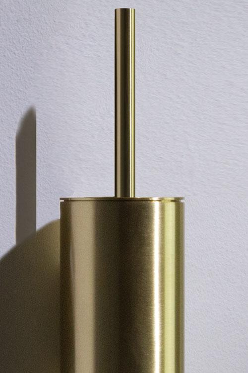 Brass Toilet Brush Set Moca Bathroom Accessories