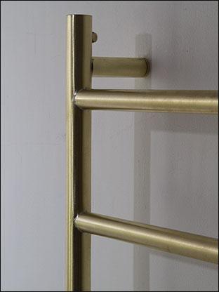 Modern Brushed Brass Towel Warmer Brass Radiators
