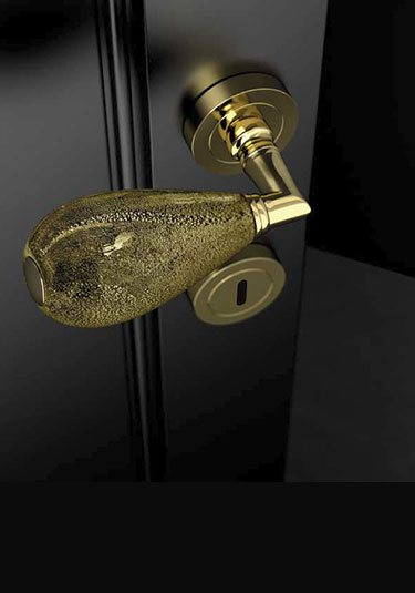Charmant Murano Glass Door Handles (130KK)