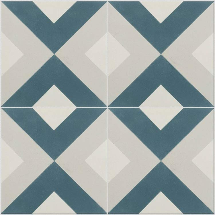 Moroccan Patterned Tiles In Geometric Designs Nador