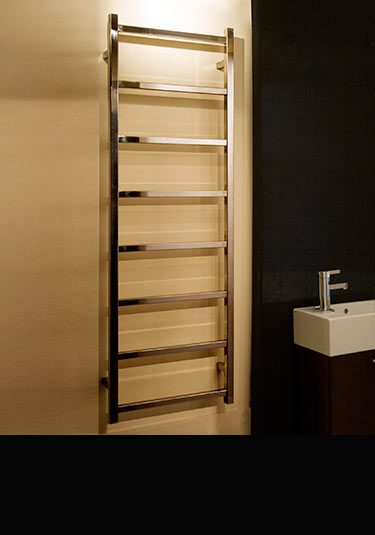 Stainless Steel Heated Towel Rails Amp Towel Radiators