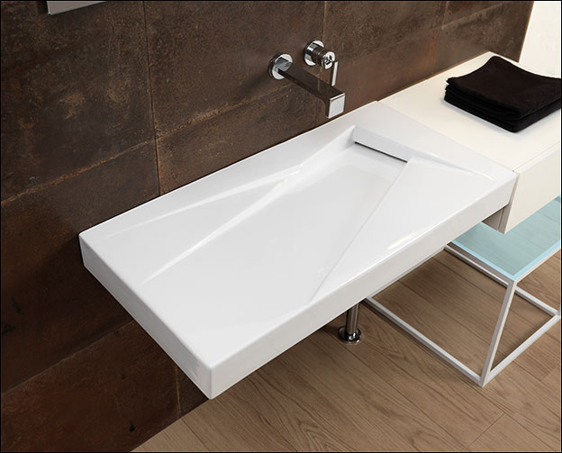 Contemporary Wall Mounted Bathroom Sinks Wall Hung Sinks