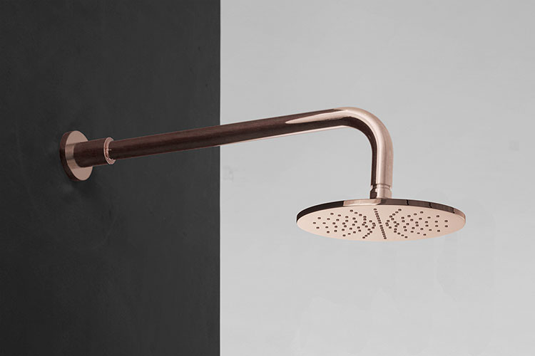 Rose Gold Shower Heads Amp Rose Gold Bathroom Taps Kara