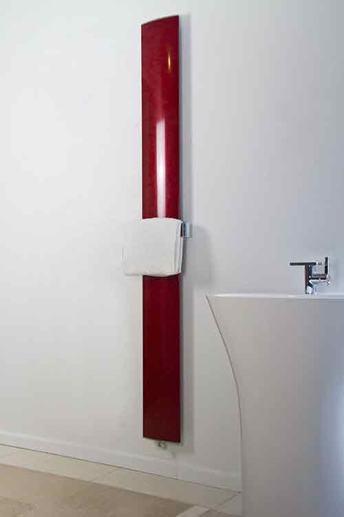 Aluminium Towel Radiator Amp Bathroom Radiator In Red Or White