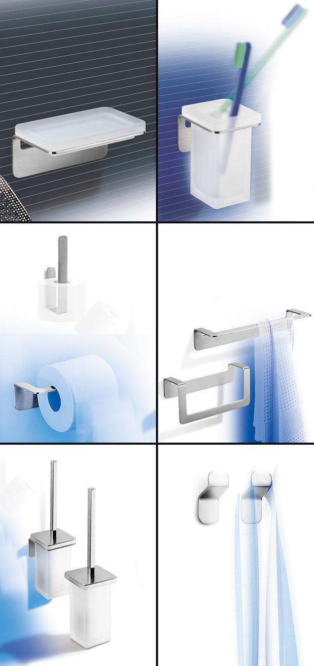 Stainless steel bathroom accessories fittings taps for Stainless steel bathroom accessories