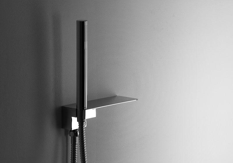 Handheld Shower Head With Shelf The Shelf
